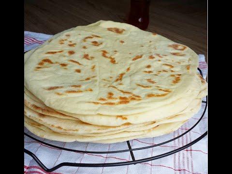 Lavaş Ekmeği Tarifi Videosu - Ekmek Tarifleri