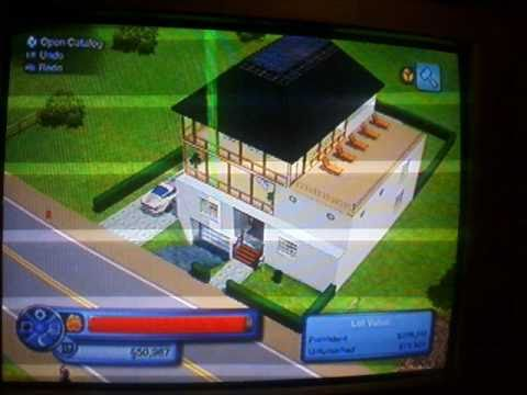 My Sims 3 House With Underground Garage On Xbox 360