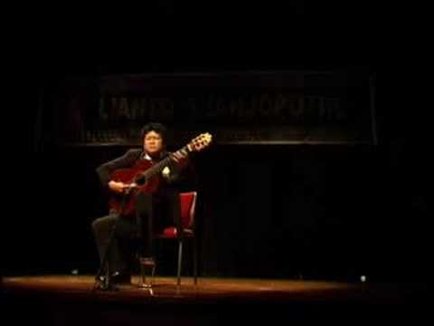 Lianto Tjahjoputro - Moonlight Sonata - Beethoven - Guitar
