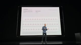 Apple unveils new Apple Watch with EKG scanning capabilities