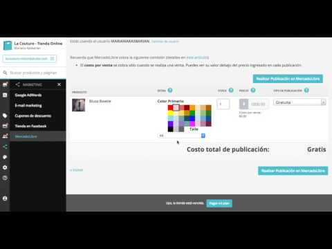 Cómo publicar en MercadoLibre desde tu Administrador Nube