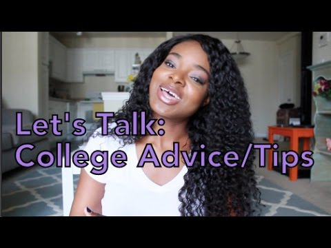 Let's Talk | College Advice/Tips for Africans/Nigerians