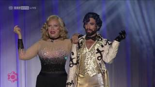 "Conchita und Verena Scheitz singen ""Money"" am Lifeball"