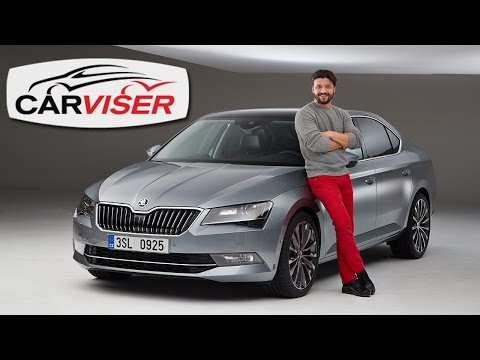 Skoda Superb 2015 Test - First Look (English subtitled)