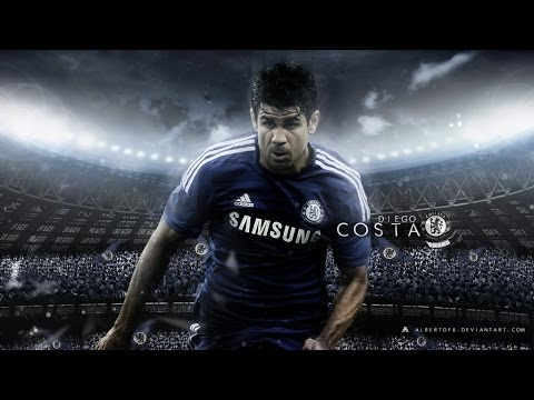 Diego Costa - 15 Goals - Chelsea FC 2014/2015 HD