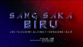 Joe Flizzow,  Altimet, SonaOne & Alif - Sang Saka Biru [Official Lyric Video] [OST Polis Evo 2]