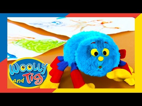 Woolly And Tig - The Painting Day