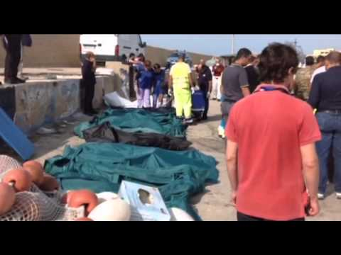 Lampesuda, Italy: 82 bodies recovered from migrant boat wreck