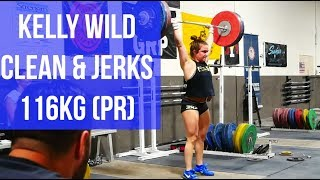 Team Gets Back From Ao3 & Kelly Wild C&J 116kg PR