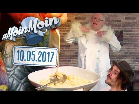 Ekelhaftes Ami-Essen und zauberhafter Techno vom  Schneekönig | MoinMoin mit Andy Strauß
