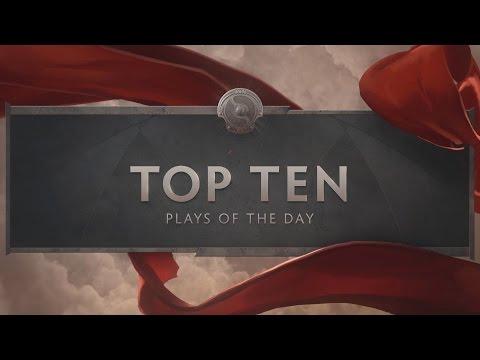 TI6 Top 10 Day One
