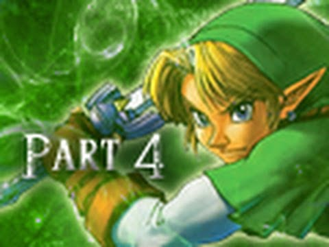 Legend of Zelda Ocarina of Time 3DS Walkthrough Part 4 - Storming the Castle