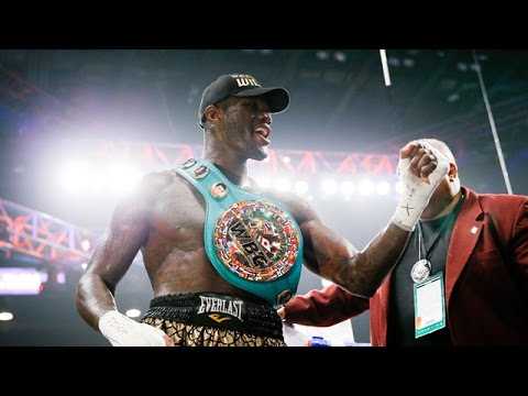 Deontay Wilder Brings Home the WBC Heavyweight Title - SHOWTIME CHAMPI...
