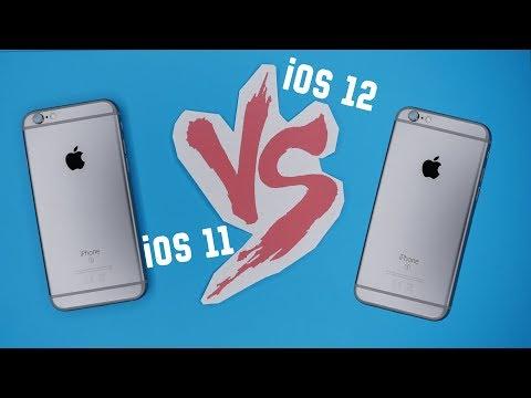 iPhone 6s 11 iOS vs iPhone 6s 12 iOS - когда тесты не имеют никакого смысла (почти)