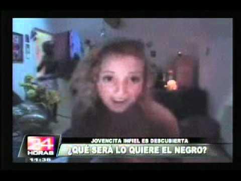 VIDEO: Joven descubrió infidelidad de su novia cuando conversaba por webcam