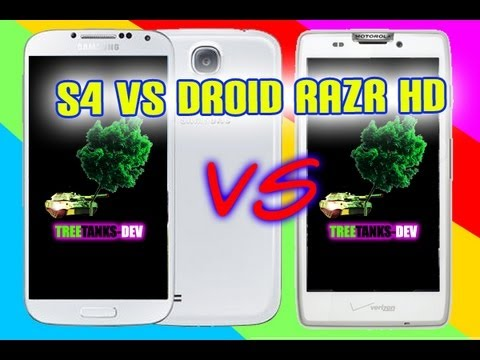 Samsung Galaxy S4 vs Motorola Droid RAZR HD