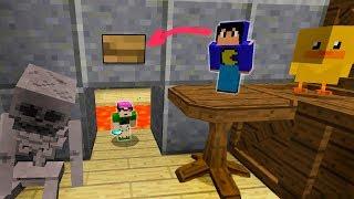 Minecraft: NÓS FICAMOS PEQUENOS! (DESAFIOS IMPOSSÍVEIS)