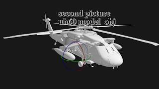 ELEMENT 3D WITH HELICOPTER TEST