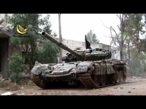 Syria war 2015:Fierce gunfight firefight