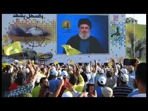 سخنرانی حسن نصرالله به مناسبت پایان جنگ لبنان و اسرائیل