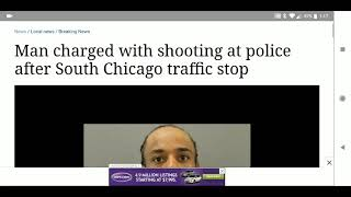 Man shoots at Chicago police a day before the Chicago police shooting
