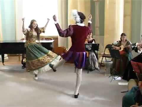 Gaspar Sanz - Canarios (con danza).avi