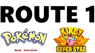 Route 1 (KIRBY SUPER STAR STYLE) | Pokémon Red/Blue