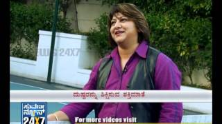 Shakti - Seg 3 - Shakti - interview with Malashri - 05 Jan 12 - Suvarna News