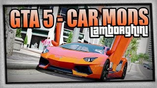 GTA 5 | CAR MODS - Lamborghini, Ferrari & Dodge | PC | Deutsch