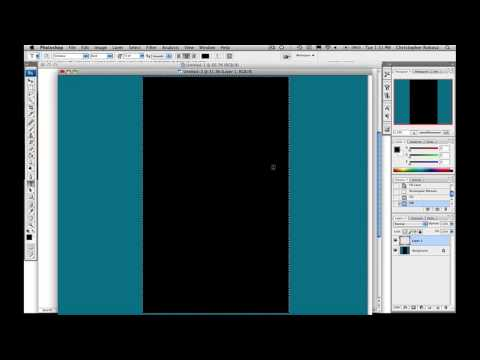 YT - Photoshop Tutorial : Photoshop MySpace Layout Tutorial Video