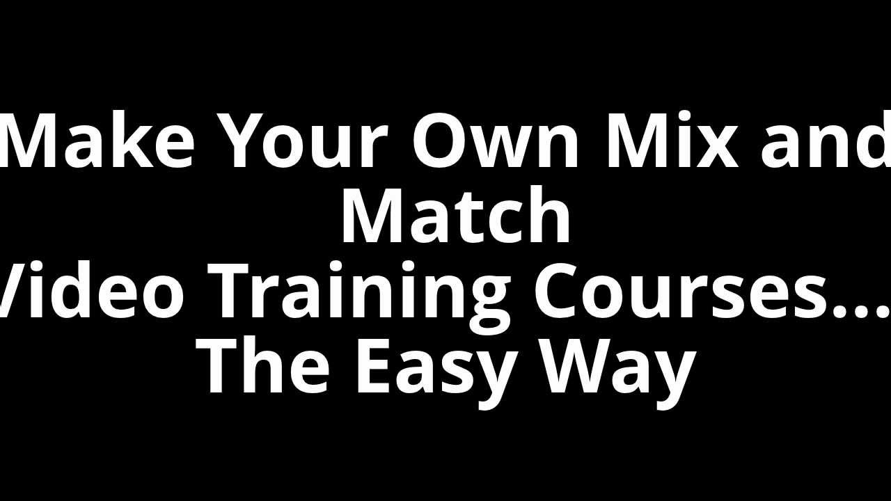 Match making courses