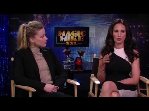 Magic Mike Interview - Amber Heard & Andie MacDowell