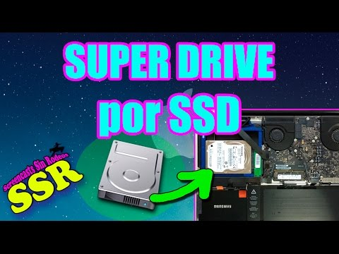 Sustitución de la Super Drive por disco duro SSD - MacBook Pro 13