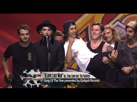 All Time Low win the APMA for Song Of The Year for