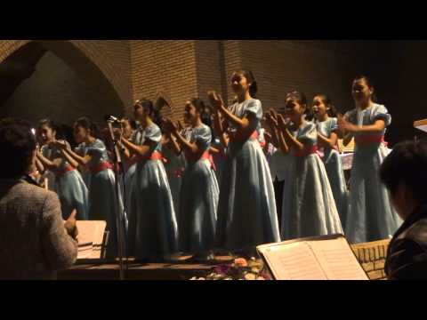 The Loboc Children´s Choir Concert in Venlo The Netherlands in their 2011 Europe Concert - Loboc Chi