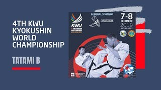 4TH KWU KYOKUSHIN WORLD CHAMPIONSHIP - 7 DEC 2019 / TATAMI B