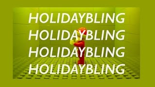"LEGO ""Holiday Bling"" Christmas Drake by CheepJokes - LEGO Stop Motion Video"