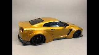 Aoshima: Nissan R35 GT-R LB Works Ver.1 Part 6