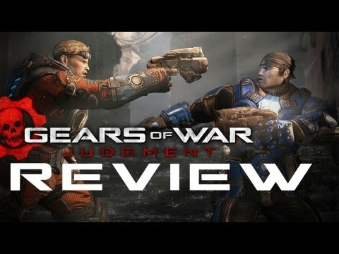 Gears of War Judgment REVIEW! Adam Sessler Reviews