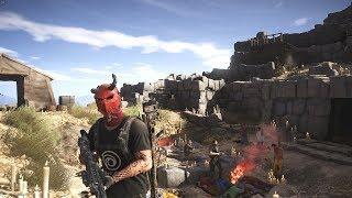How To Unlock The Broken Devil Mask Ghost Recon Wildlands