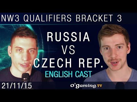 Russia vs Czech Republic - NationWars III - Qualifiers Bracket 3 - Match 1 [EN]