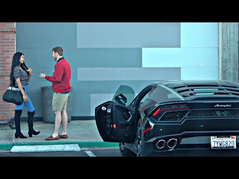 Spoiled Rich Kid Picking Up Girls with a Lamborghini
