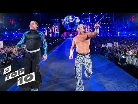 WrestleMania's memorable returns: WWE Top 10, March 24, 2018
