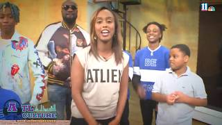Bankroll PJ and Streetbud rap in ATL hip-hop cypher for 11Alive News