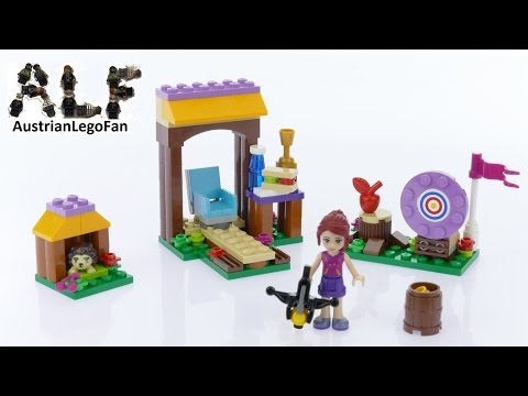 Lego Friends 41120 Adventure Camp Archery - Lego Speed Build Review