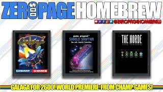 GALAGA!!! (WIP), Shield Shifter, The Horde (WIP): Atari 2600 Homebrew