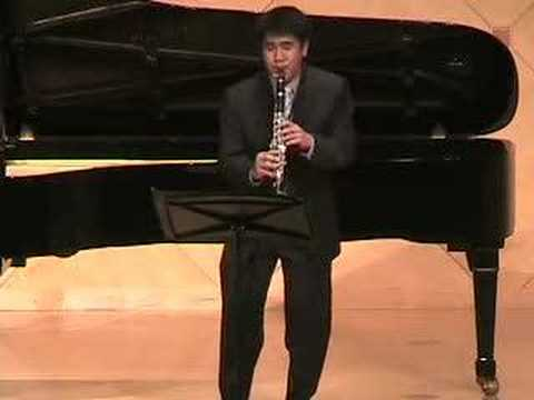 Rachmaninoff Vocalise on clarinet Video