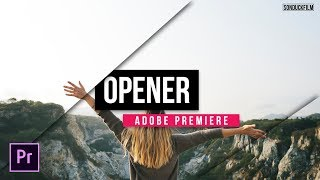 Create a Title Opener in Adobe Premiere | Tutorial