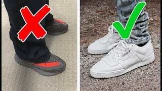 5 SNEAKER RULES EVERY GUY SHOULD FOLLOW!