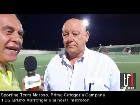 VIDEO. Sporting Team Moroso. Intervista al DG Bruno Marroncelli che presenta la squadra